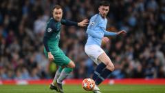 Indosport - Admin Twitter The Citizen mengunggah status aneh saat leg kedua perempatfinal Liga Champions 2018/19 antara Manchester City vs Tottenham.