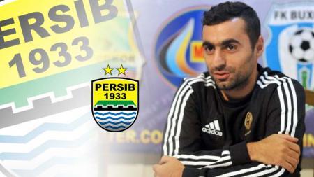 Pemain baru Persib Bandung Artur Gevorkyan. Grafis: Tim/Indosport.com - INDOSPORT