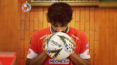 Indosport - Pemain asing Semen Padang Jose Augusto Sardon di Liga 1 2019.