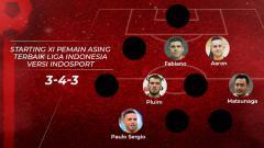 Indosport - Starting XI Pemain Asing Terbaik Liga Indonesia Versi INDOSPOR. Eli Suhaeli/INDOSPORT
