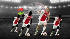 Indosport - Empat bintang Ajax ini bakal ramaikan bursa transfer musim panas 2019, diantaranya Matthijs de Ligt