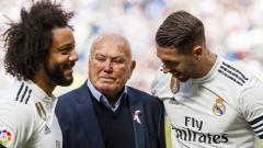 Indosport - Agustin Herrerin, ikon klub Real Madrid.