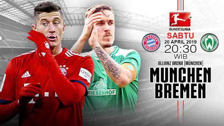 Pertandingan Bayern Munchen vs Werder Bremen. Grafis:Tim/Indosport.com - INDOSPORT