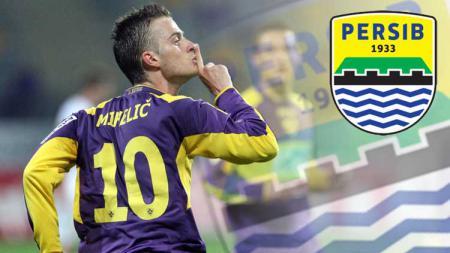 Persib Bandung tengah mengincar gelandang asal Slovenia Rene Mihelic. - INDOSPORT
