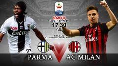 Indosport - Prediksi pertandingan Parma vs Ac Milan.