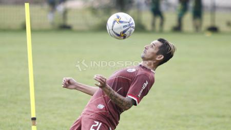 Silvio Escobar, saat masih bermain bagi klub Liga 1, Persija Jakarta. - INDOSPORT