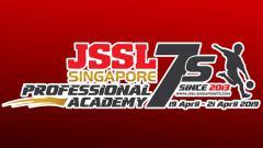 Indosport - Logo JSSL Profesional Academy 2019 Singapura.