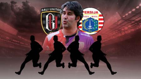 Lima reuni eks Persija yang terjadi di laga vs Bali United dalam ajang Kratingdaeng Piala Indonesia 2019. - INDOSPORT