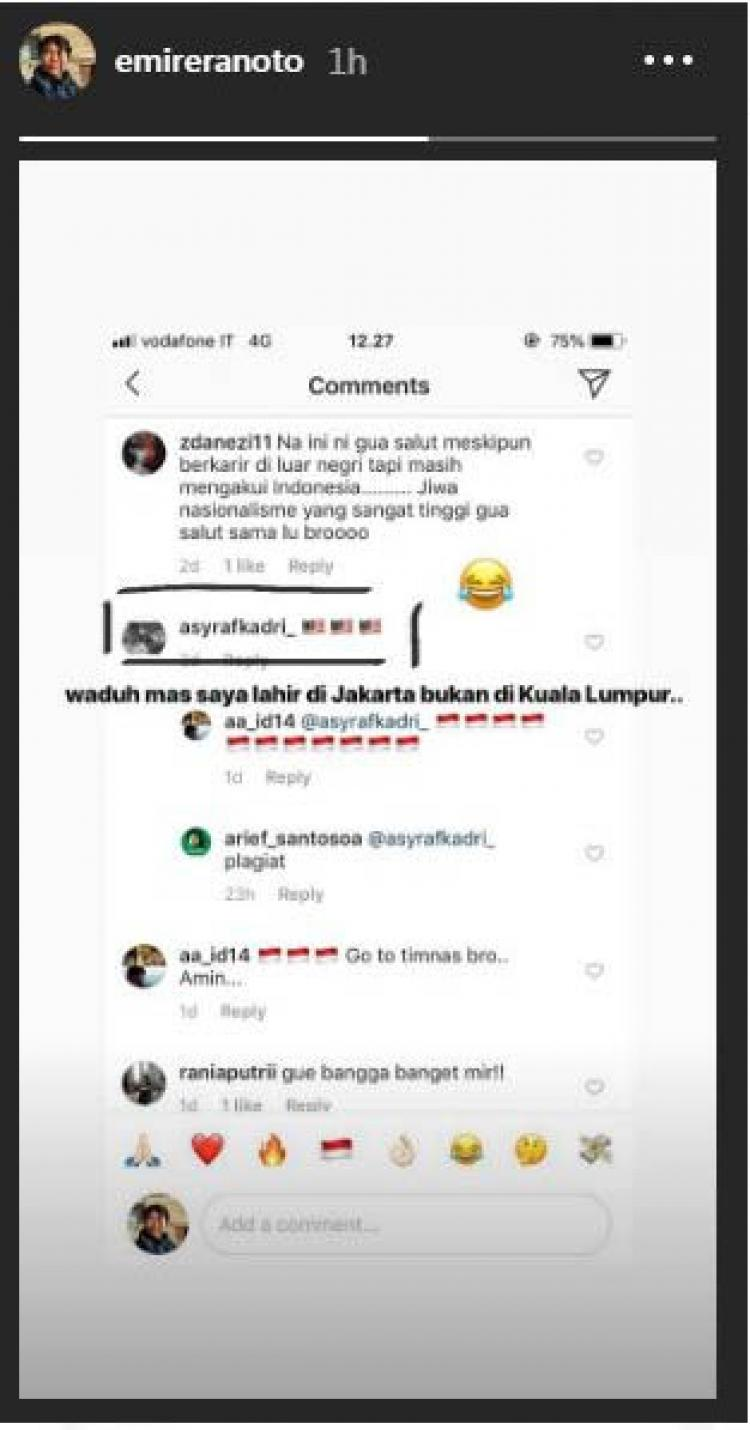 Emi Reranoto Pemain indonesia di luar negeri Copyright: Emi Reranoto