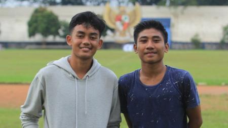 Dua pemain PSIS U-16, Dyas Bagus Widayanto dan Muhammad Ibnu Iqbal, dipanggil seleksi Timnas Indonesia U-18. - INDOSPORT