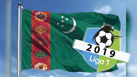 Ilustrasi jejak pemain sepak bola Turkmenistan di Liga Indonesia. - INDOSPORT