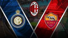 Indosport - Tiga raksasa sepak bola Serie A Liga Italia, Inter Milan, AS Roma, dan AC Milan, terlibat urusan transfer pemain Januari ini.