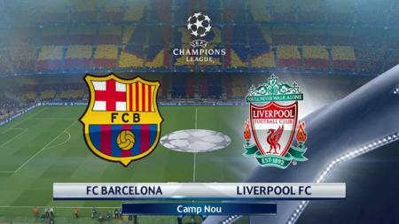 Pertandingan leg pertama antara Barcelona vs Liverpool di Camp Nou pada ajang Liga Champions 2018/2019. - INDOSPORT