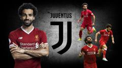Indosport - Mohamed Salah diisukan tengah didekati Juventus