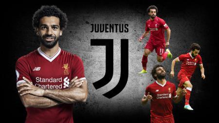 Mohamed Salah diisukan tengah didekati Juventus - INDOSPORT