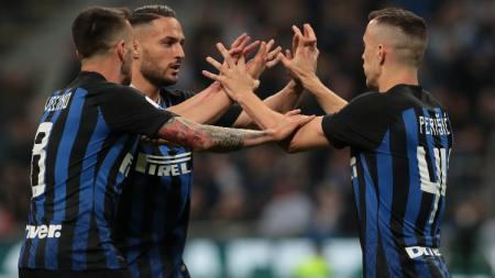 Bintang Inter Milan yang jadi target Manchester United, Ivan Perisic masuk dalam daftar jual Nerazzurri di bursa transfer musim panas ini. - INDOSPORT