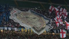 Indosport - Suasana Stadion San Siro saat Inter Milan vs AS Roma.