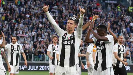 Cristiano Ronaldo memberikan ucapan terima kasih kepada fans Juventus yang memberikan dukungan kepadanya sepanjang musim 2018-19.
