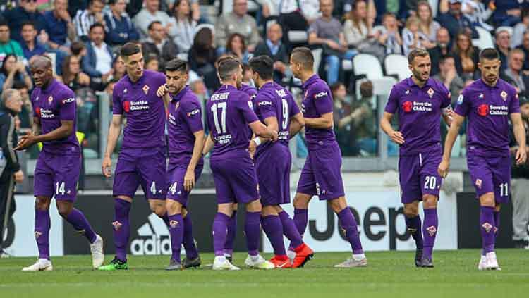 Meski kalah, setidaknya Fiorentina mampu memberikan pertandingan yang tak mudah untuk Juventus di laga Serie A Italia 2018-19 pekan ke-33. Copyright: Giampiero Sposito/GETTYIMAGES