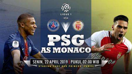 Prediksi pertandingan Paris Saint-Germain vs As Monaco. - INDOSPORT