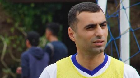 Artur Gevorkyan saat jalani latihan bersama Persib Bandung. - INDOSPORT