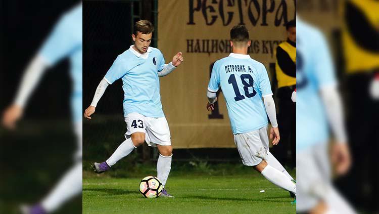 Srdan Ajkovic salah satu pemain asing yang akan didatangi oleh persib. Copyright: Instagram