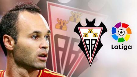 Albacete Balompie klub lama Andres Iniesta bertarung di LaLiga. - INDOSPORT