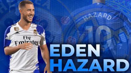 Rumor tentang kepindahan Eden Hazard. - INDOSPORT