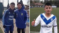 Indosport - Manchester City akan menjalin kerjasama dengan Sporting Lisbon demi mendatangkan rekan senegara Lionel Messi, Thiago Almada.