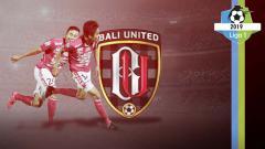Indosport - Profil tim Bali United Liga 1 2019