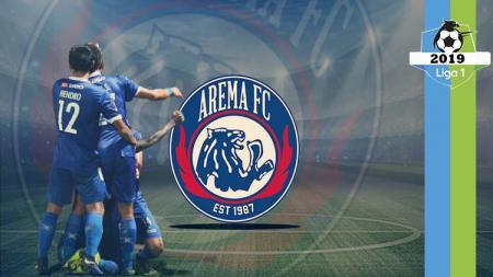 Profil tim Arema fc Liga 1 2019. - INDOSPORT
