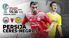 Indosport - Pertandingan Persija Jakarta vs Ceres-Negros. Grafis:Yanto/Indosport.com
