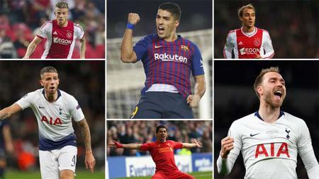 6 Pemain yang akan bertemu sang mantan di semifinal Liga Champions. Foto: foxsportasia.com - INDOSPORT