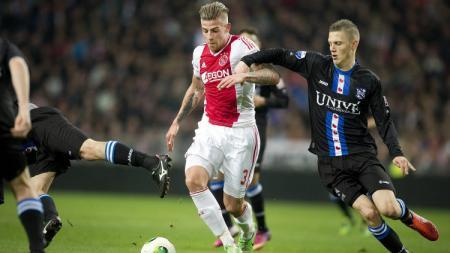 Toby Alderweireld saat masih bermain untuk Ajax Amsterdam. (Evening Standard) - INDOSPORT