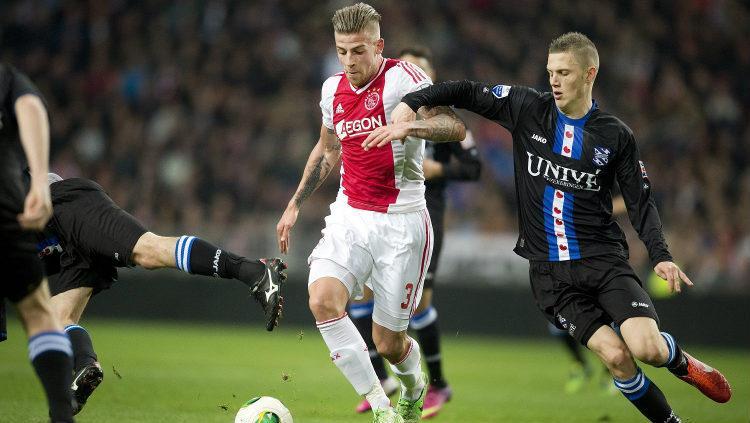 Toby Alderweireld saat masih bermain untuk Ajax Amsterdam. (Evening Standard) Copyright: Evening Standard