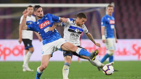 Klub sepak bola LaLiga Spanyol, Real Madrid, dilaporkan telah memulai negosiasi dengan Napoli terkait gelandang muda potensial, Fabian Ruiz. - INDOSPORT