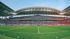 Indosport - Syarat stadion untuk Piala Dunia.