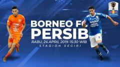 Indosport - Prediksi Borneo FC vs Persib Bandung