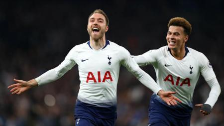 Tottenham Hotspur rela melepas bintangnya, Christian Eriksen, ke Real Madrid jika Marco Asensio masuk dalam perjanjian transfer - INDOSPORT