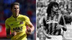 Indosport - Maxim Gullit, wonderkid AZ Alkmaar yang ternyata anak dari legenda sepak bola Belanda.