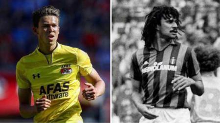 Maxim Gullit, wonderkid AZ Alkmaar yang ternyata anak dari legenda sepak bola Belanda. - INDOSPORT