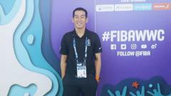 Indosport - Harja Jaladri jadi wasit Piala Dunia Basket.