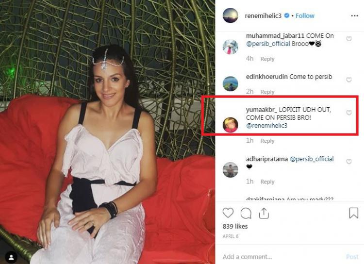 Unggahan terakhir Instagram Rene Mihelic yang kembali diserang Bobotoh untuk gabung Persib Bandung di Liga 1 2019. (instagram.com/renemihelic3) Copyright: instagram.com/renemihelic3