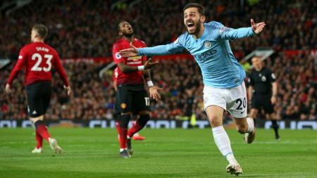 Terdapat 3 faktor kuat bagaimana Manchester City diprediksi mampu mengandaskan Manchester United di Liga Inggris, Minggu (08/03/20) mendatang. - INDOSPORT