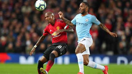 Laga Derby Manchester di Old Trafford pada 25 April 2019. Catherine Ivill/Getty Images - INDOSPORT