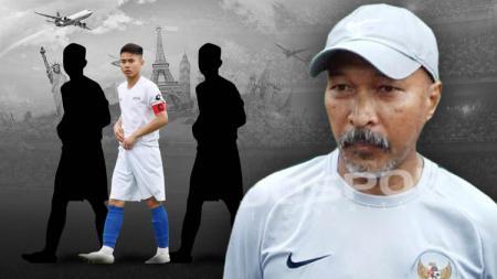 Fachry Husaini pelatih Timnas U-19 bisa memanggil pemain yang berlaga di luar negeri. - INDOSPORT