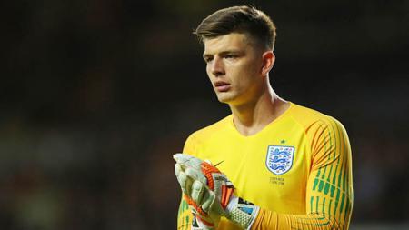 Nick Pope adalah pilihan masuk akal Gareth Southgate untuk menjadi penjaga gawang nomor satu timnas Inggris. - INDOSPORT