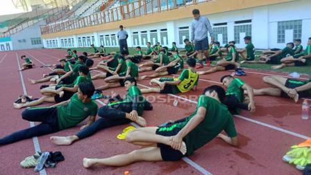 Proses Seleksi Timnas Indonesia U-19 di Stadion Wibawa Mukti, Cikarang (25-04-2019). Foto: Shintya Anya Maharani/INDOSPORT