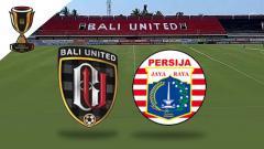 Indosport - Logo Bali United vs Persija Jakarta di Piala Indonesia 2019