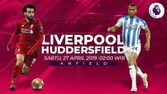 Indosport - Prediksi Liverpool vs Huddersfield Town